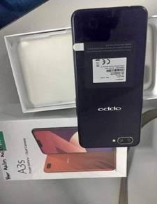 Tiptop fullset Oppo A3s 2GB 16GB new set ori bteri