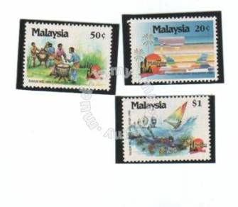 Mint Stamp Visit Malaysia Year 1990