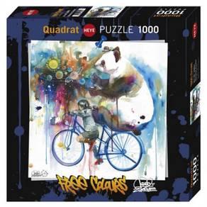 Heye quadrat puzzle 1000+poster