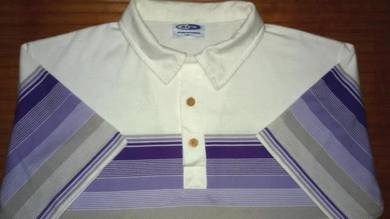 Authentic BEN AIPA STRIPED Sz L Collar Shirts