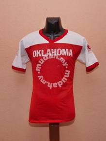 Vintage OKLAHOMA university kain sambung kueii