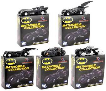 Tomica Tomy Batman Batmobile Diecast Collection