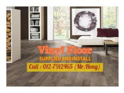 PVC Vinyl Floor - With Install IE97
