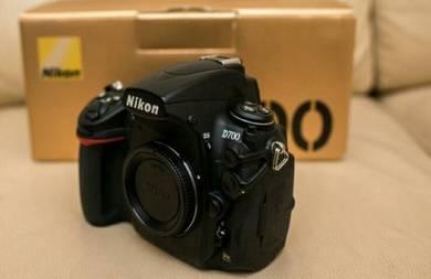 Nikon D700 Body Complete Fullbox