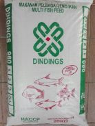 Dinding Floating Multi Fish Feed 9803 20kg