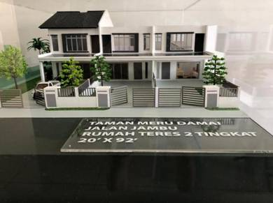 [Freehold][Low Downpayment]Pekan Meru-Double Storey House-20'X92'