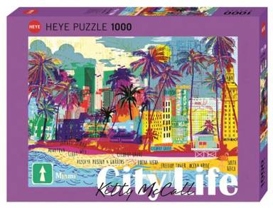 Heye miami kitty mccall 1000 puzzle