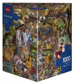 Heye tanck in the ttic puzle 1000