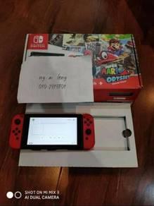 Nintendo Switch v1 Mario Odyssey