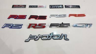 R3 myvi limited edition proton rs gti campro logo