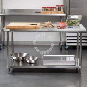 Stainless Steel WorkTable with undershelf 4 feet