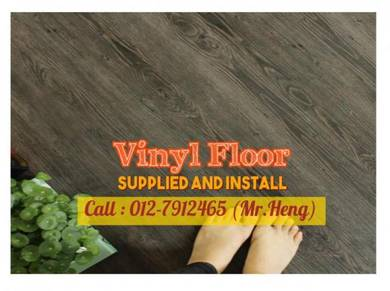 NEW Made Vinyl Floor with Install PL77