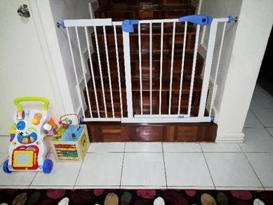 Pagar bayi safety gate no drill new