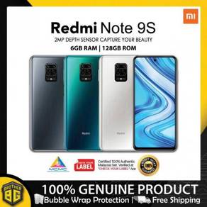 Redmi note 9s [6gb+128gb/fast 18w/big batty]- new