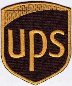 UPS United Parcel Service of North America Patch