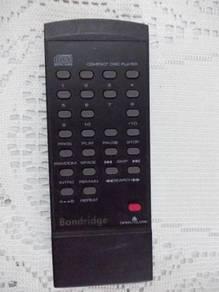 Bandridge CD player remote control