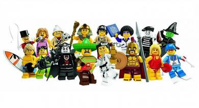 LEGO 8684 Minifigures Series 2 Lot Of 16