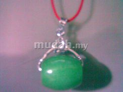 ABPJ-G001 Charming Jewelry Green Jasper Necklace