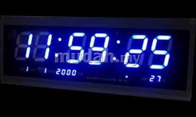 Red LED Digital Clock