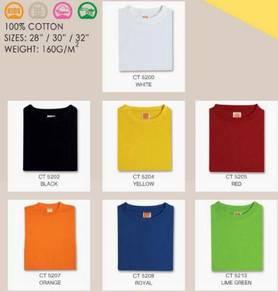 CT52XX T Shirt Round Neck Comfy Cotton 160Gm Child