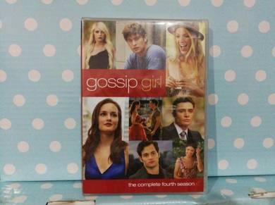 DVD Gossip Girl Season 4 - 5 disc collection
