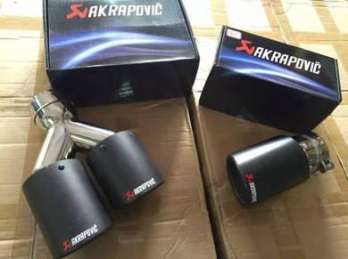 Akrapovic muffler exhaust ekzos tip pipe 1
