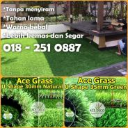 Artificial Grass Serat U/M Rumput Tiruan Carpet 11