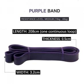 Resistance Band ( 35 - 85 lbs ) - Purple
