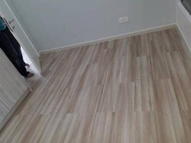 Vinyl Floor Lantai Timber Laminate PVC Floor Z379