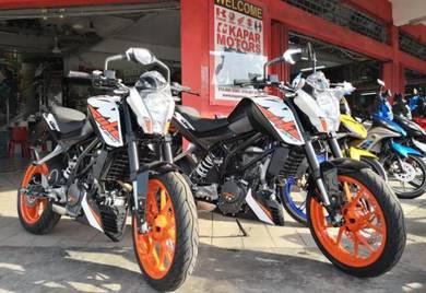 New KTM 200 Duke 200 Duke 200 Ready stock DP1k