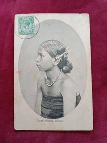 Postcard Dayak Woman 1917 B66