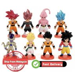 Dragon Ball Super Figures Black Goku Gohan Vegeta