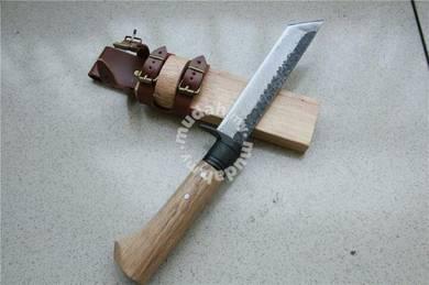 Parang Damascus Fixed Blade Knife BKNT