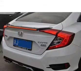 Honda civic fc 2016 spoiler carbon ( long light )