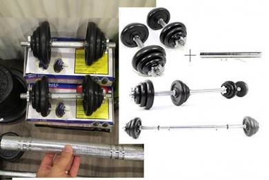 Barbell+Dumbell Set 20KG 2 dumbell + connector