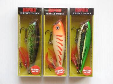 Rapala Skitter Pop 9 Special Fishing Lure Set 2