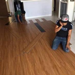 Vinyl Floor Lantai Timber Laminate PVC Floor Z364