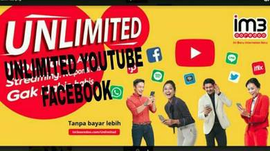 Prepaid unlimited youtube facebook
