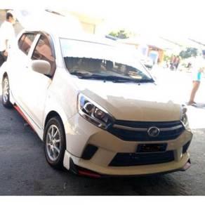 Perodua axia 2017 gspec 68 body kit