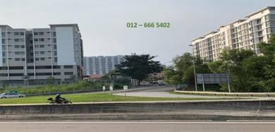 Akasia Residence NEW Direct Entrance SILK Highway UTAR Shuttle bus