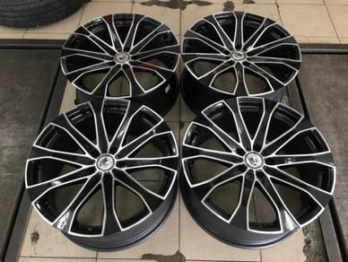 19x8.5J Adela Performance Luxury Wheels 114.3x5