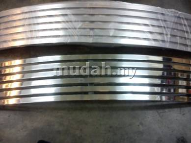 Proton iswara front grill grille aluminium