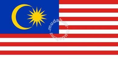 Bendera Malaysia (2 ft x 4 ft)