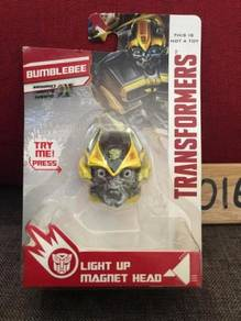 Transformers bumblebee light up magnet head