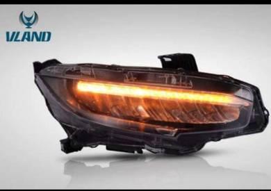 Honda civic fc led headlamp head light lights lamp