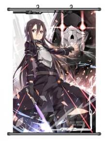Anime SAO Wallscroll