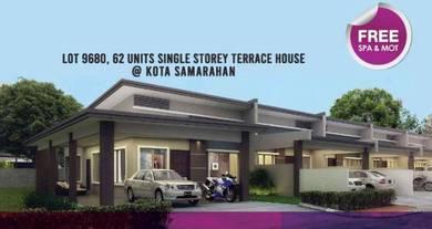 NEW EXTRA LARGE Land Sizes Single Storey at Kota Samarahan