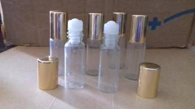 Glass roll on bottle 5ml