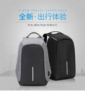 Anti Theif Backpack Travel Laptop USB Charge Bag