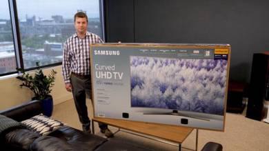 Samsung UN65MU7500 Curved 65-Inch 4KUltra LED TV